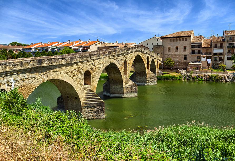 Zentral- und Nordspanien entdecken, Puente de la Reina