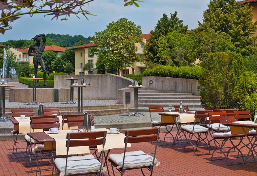 Radisson Blu Park Hotel Dresden, Terrasse