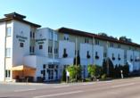 Heidehotel Lubast, Außenansicht