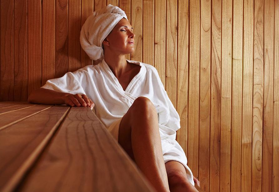 Heidehotel Lubast, Sauna