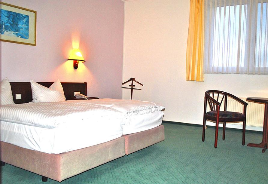 Heidehotel Lubast, Zimmer