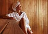 Brit Hotel Relais du Ried in Bischwihr, Sauna