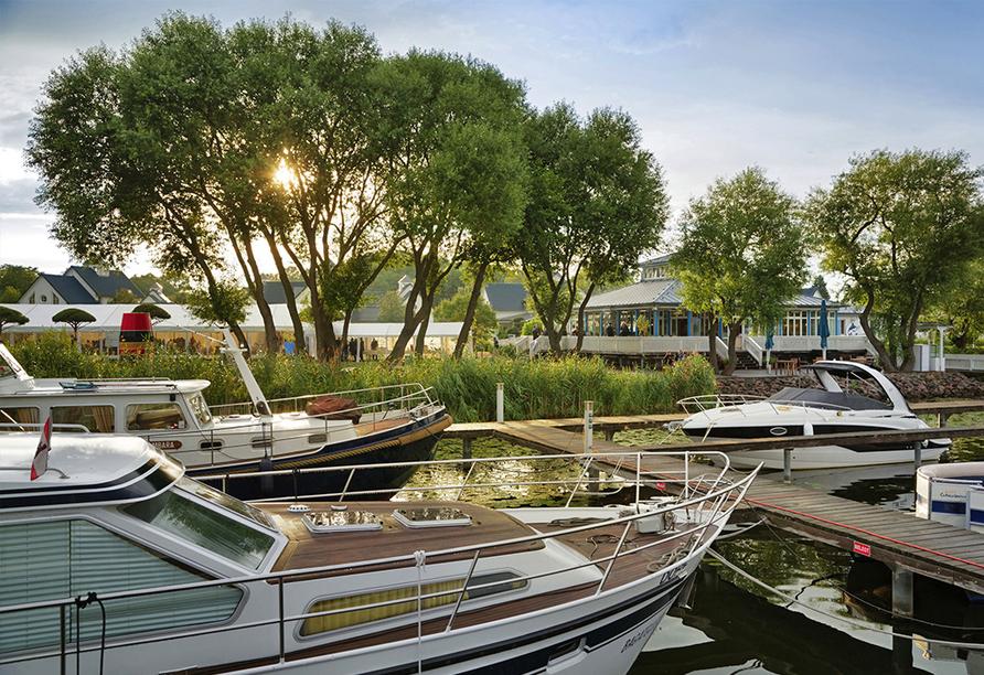 Precise Resort Schwielowsee, Hafen