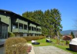 Landhotel Christopherhof in Grafenwiesen, Außenbereich