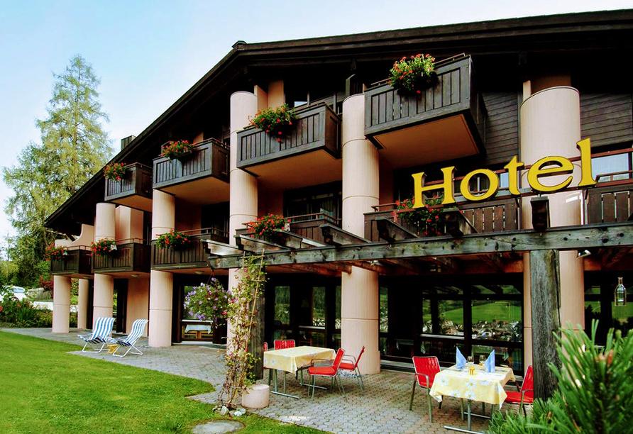 T3 Hotel Mira Val, Außenansicht