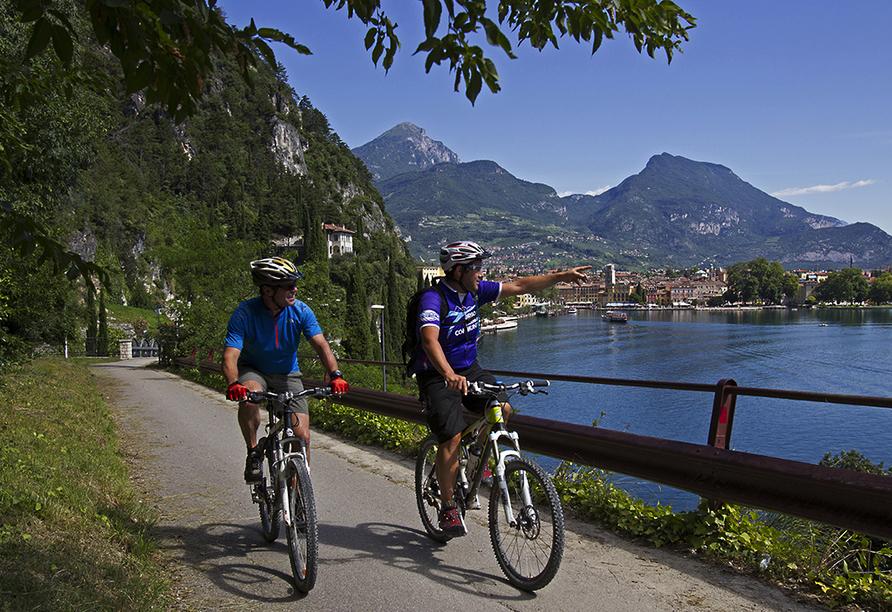 Etsch-Radweg, Fahrrad fahren