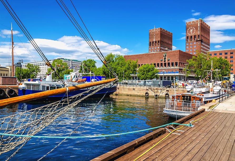 Rundreise durch Schweden, Norwegen und Finnland, Oslo