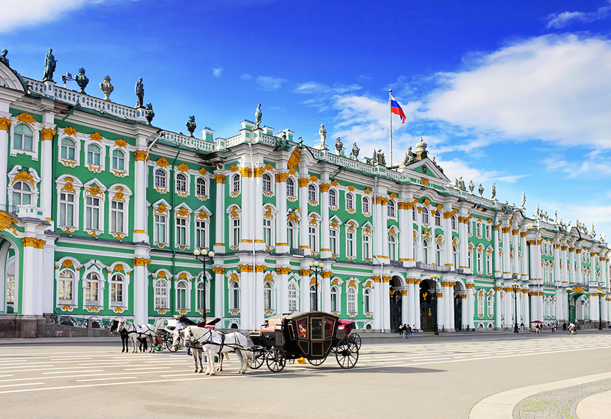 MS Aleksandra, Winterpalast St. Petersburg