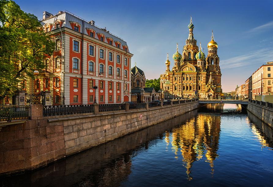 MS Aleksandra, St. Petersburg