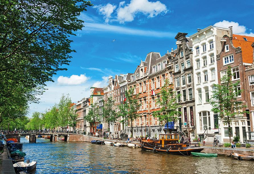 MS Serena, Amsterdam Grachten