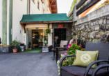 Hotel Kertess in St. Anton am Arlberg, Außenansicht
