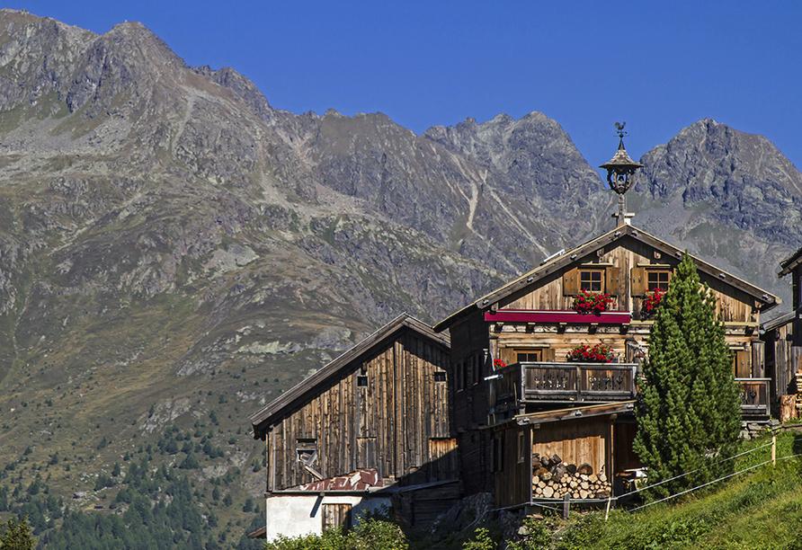 First Mountain Hotel Ötztal Längenfeld Tirol Österreich, Kleblealm