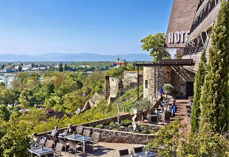 Hotel Stadt Breisach, Panoramaausblick
