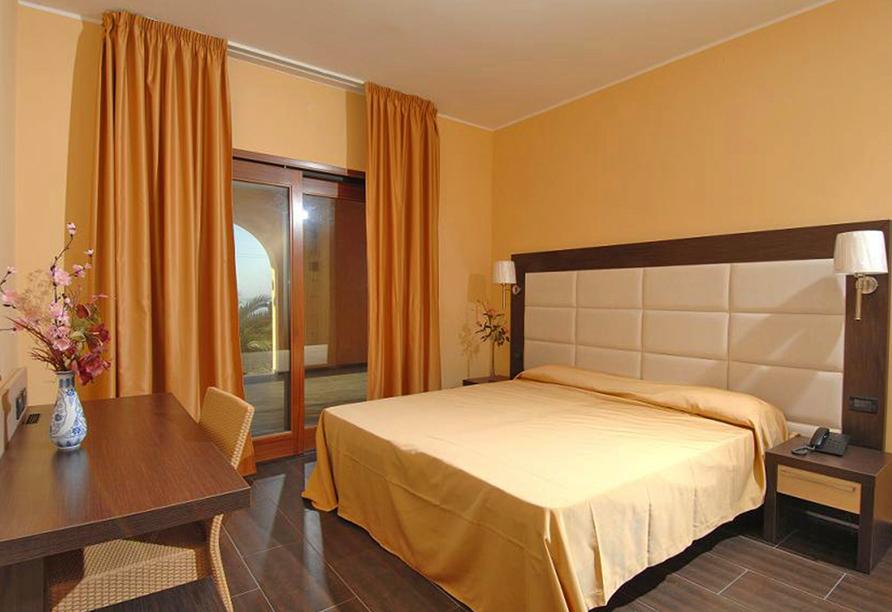 Hotel Cannamele, Zimmer
