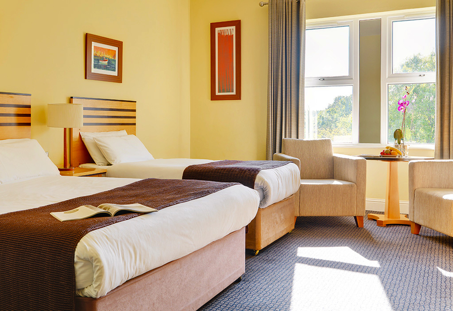 Rundreise Irland, Breaffy House Hotel, Beispielzimmer