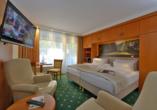 Hotel Schweizer Hof in Bad Füssing im Bayerischen Wald, Beispiel Doppelzimmer Superior