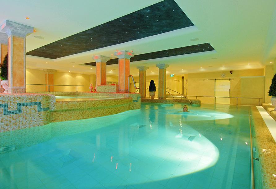Hotel Schweizer Hof in Bad Füssing im Bayerischen Wald, Wellness