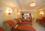 Hotel Schweizer Hof in Bad Füssing im Bayerischen Wald, Ruheraum