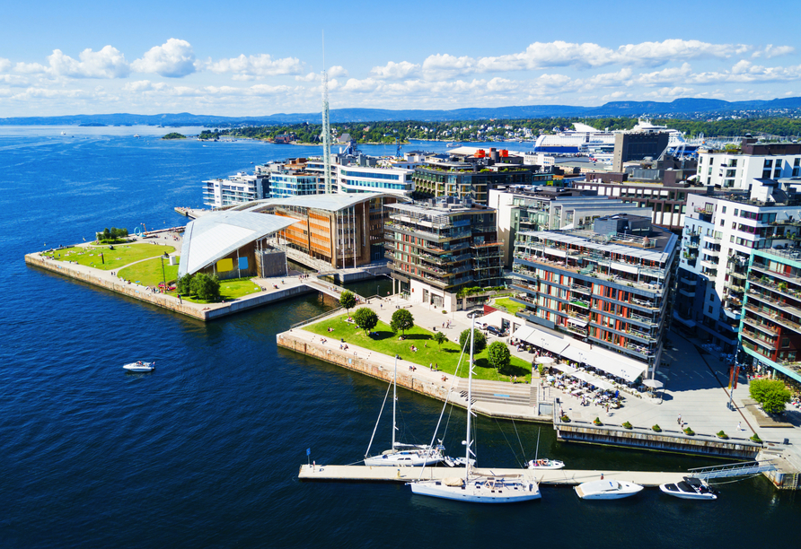 Color Line Minikreuzfahrt Kiel Oslo, Oslo