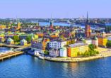 Gamla Stan: Stockholms alte Skyline der Stadt
