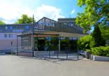 Hotel Riviera Nova Role bei Karlsbad, Außenansicht