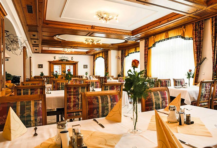 Sattelbogener Hof, Traitsching, Bayerischer Wald, Restaurant