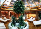 Wellness & Sporthotel Bayerischer Hof in Rimbach, Wellnessbereich