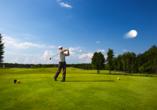 Wellness & Sporthotel Bayerischer Hof in Rimbach, Golf