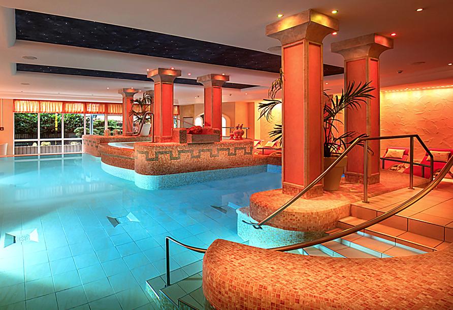 Hotel Schweizer Hof in Bad Füssing im Bayerischen Wald, Thermalbewegungsbad