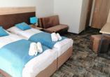 Welle Resort in Gribow in Polen, Zimmerbeispiel