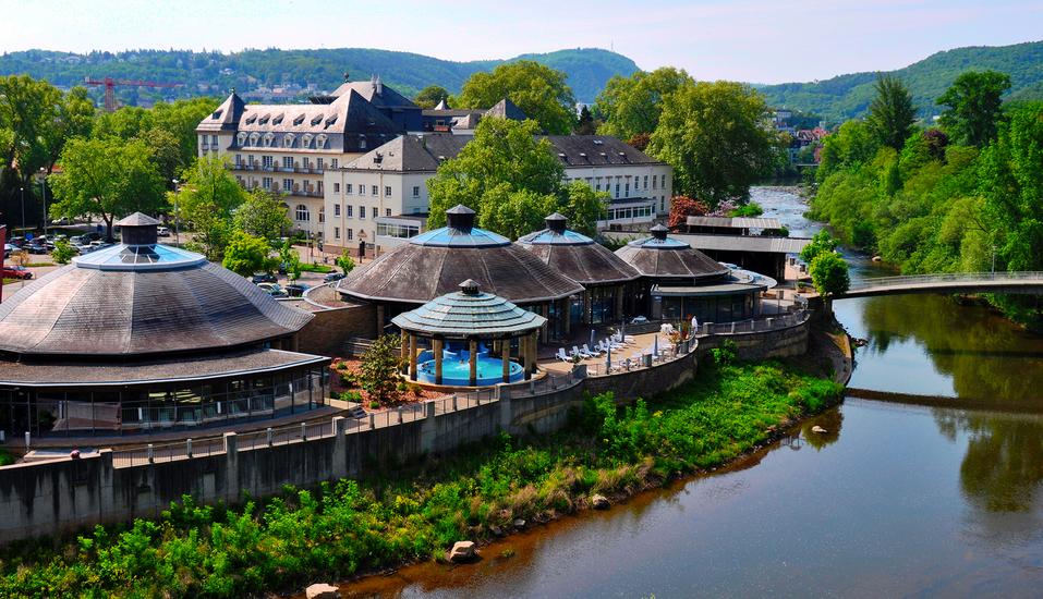 Parkhotel Kurhaus in Bad Kreuznach Therme
