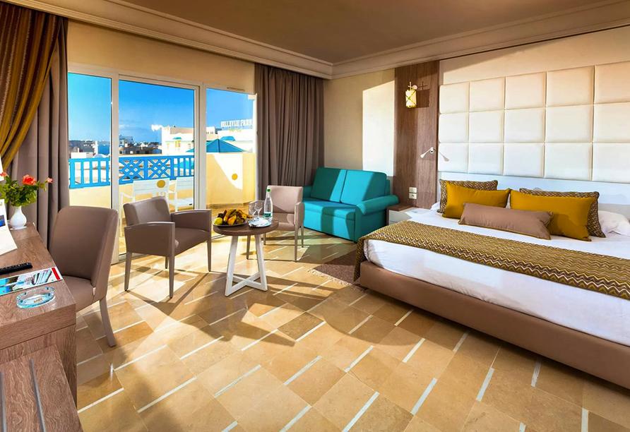 Hotel LTI Bellevue Park Sousse, Familienzimmer Beispiel