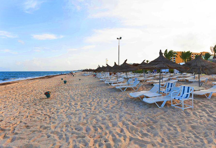 Hotel LTI Bellevue Park Sousse, Strand