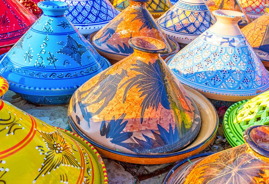 Hotel LTI Bellevue Park Sousse, Tunesische Keramik Tajin