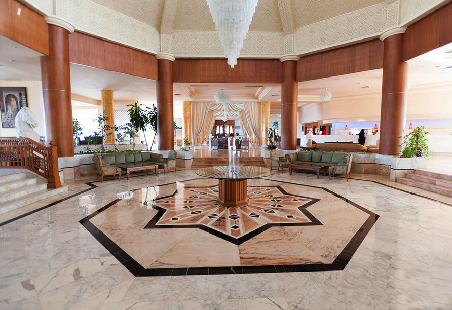 Hotel Sentido Bellevue Park Sousse, Lobby