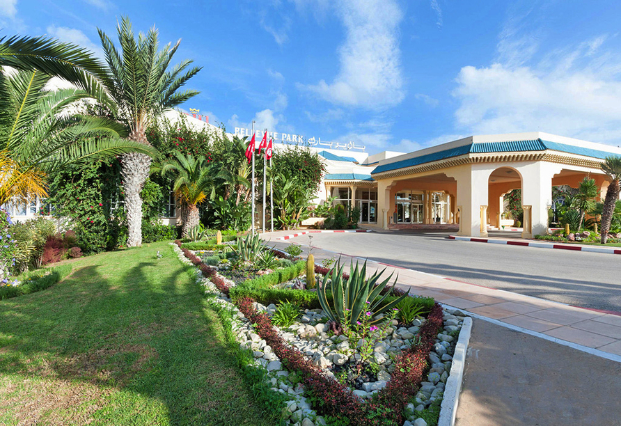 Hotel LTI Bellevue Park Sousse, Eingangsbereich
