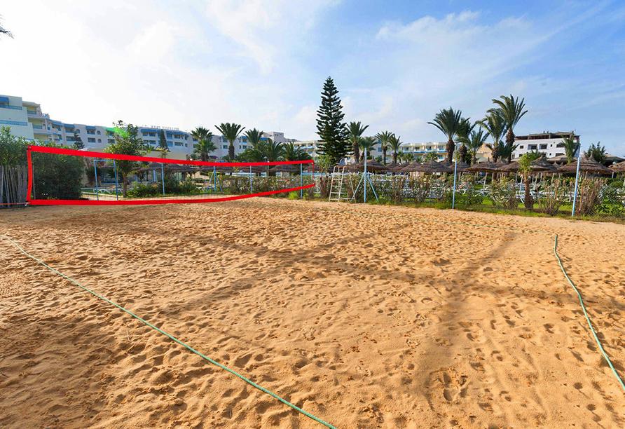 Hotel LTI Bellevue Park Sousse, Beachvolleyball