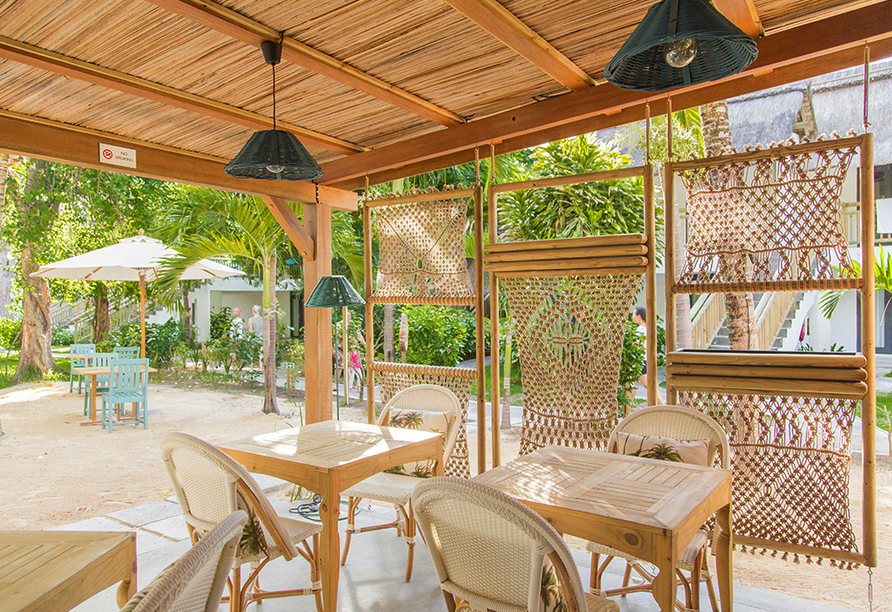 Hotel Coin de Mire Attitude in Bain Boeuf, Restaurant Kot Nou