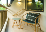 Hotel Coin de Mire Attitude in Bain Boeuf, Balkon Doppelzimmer Deluxe