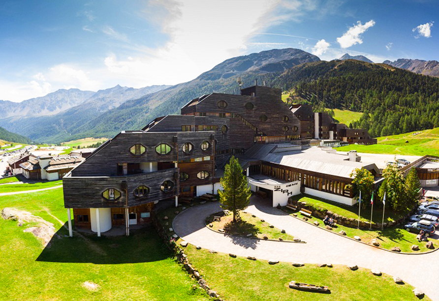 Blu Hotels Senales in Kurzras Schnastal Südtirol, Außenansicht