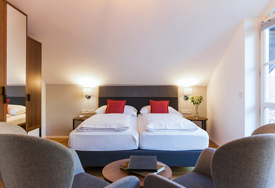 Hotel Teutschhaus in Kurtinig, Zimmerbeispiel 2 Superior