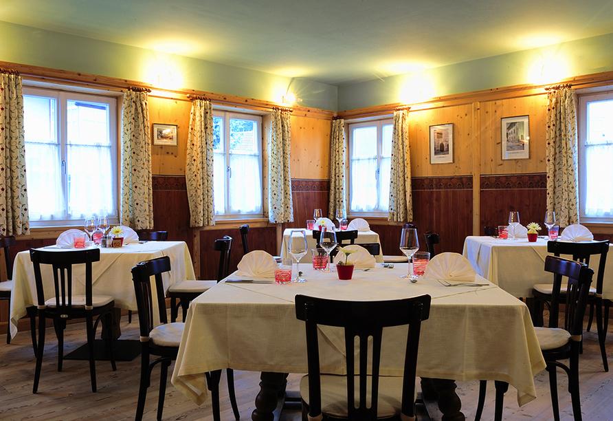 Hotel Teutschhaus in Kurtinig, Restaurant