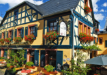Hotel Zum Grünen Kranz in Rüdesheim, Außenansicht