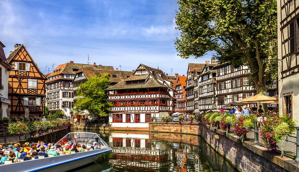 MS Andrea, Straßburg Bootsfahrt