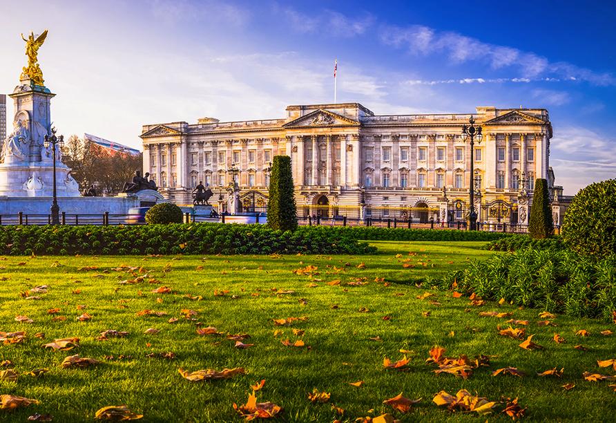 Die Höhepunkte Südenglands, Buckingham Palace