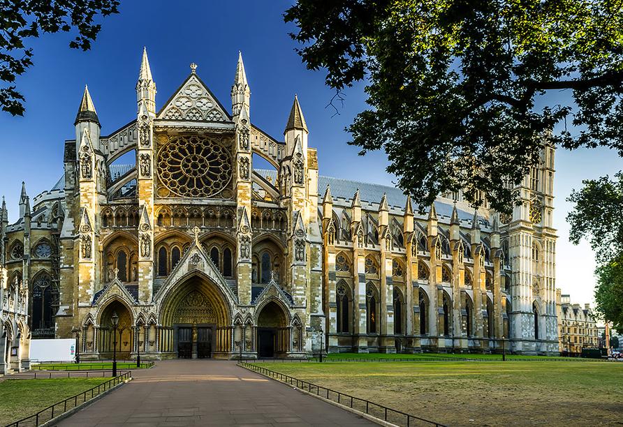Die Höhepunkte Südenglands, Westminster Abbey