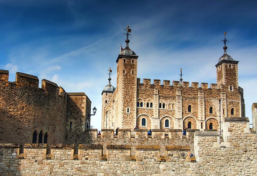 Die Höhepunkte Südenglands, Tower of London