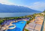 Parc Hotel Cristina in Limone sul Garda, Panoramablick