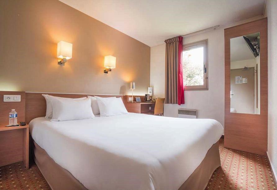 Rundreise Normandie & Bretagne, Zimmerbeispiel des Beispielhotels Kyriad le Bourget