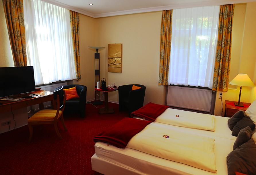 CAREA Schlosshotel Domäne Walberberg, Zimmerbeispiel